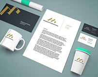 Brand Design Mockup For Montgomery Perciful Marketing