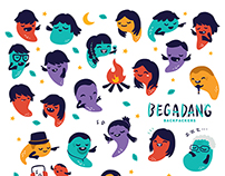 Branding : Begadang Backpackers Indonesia