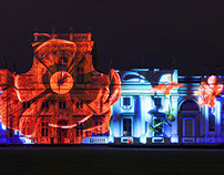 Raffaello's 'Magic Garden' - 3D Projection Spectacle