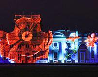 Raffaello's 'Magic Garden' - 3D Projection Spectacle