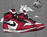 Sneakers - Air Jordan 1 High