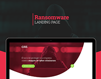 Ransomware - Landing Page