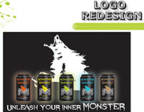 Mock up - Monster Energy Drink Logo Redesign