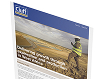Cluff Gold plc Corporate Fact Sheet