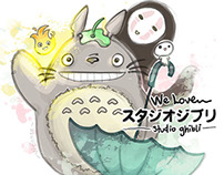 We love Studio Ghibli! (2014)
