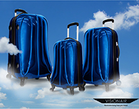 Visionair Luggage Web Ads