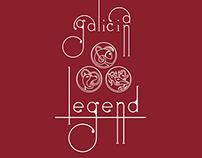Galician Legends Part I. Illustration.