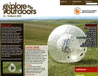 Explore The Outdoors Branding