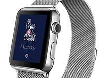 Apple Watch Premier League Matchday App