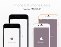 Freebie - Vector iPhone 6 Mockup