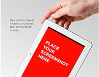 Tablet Mock-up PSD