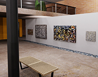 Jackson Pollock Gallery Space