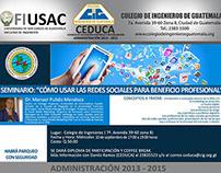 """Conferencia """"El uso profesional de las redes sociales"""""""