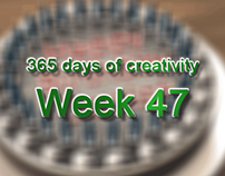 365 days of creativity/art - Week 47