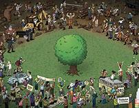leñadores vs activistas Lubrex