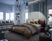 Sister bedroom.