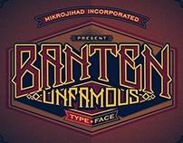 Banten Unfamous Typefaces