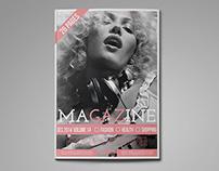 Girls Magazine Template