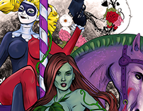 Harley and Ivy Florence Comicon