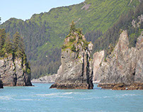 Kenai Fjords National Park.  Alaska