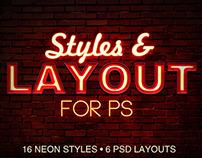 PS Neon Styles