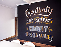 Nucleus – 'Creativity' Wall