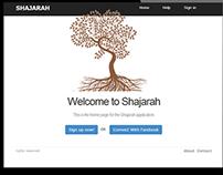 Shajarah | Family Tree App Prototype