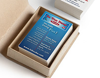 In Too Deep Scuba business cards