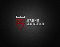 логотип и фирменный стиль для Аккадемия Безопасности