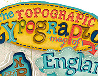 Typographic Map of England
