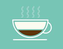 Tesco Coffee illustration