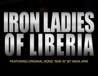 Iron Ladies of Liberia DVD cover