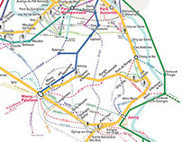 SNCF - Map / Network