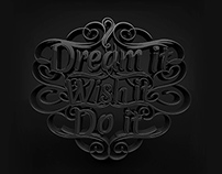 Dream | Typography
