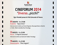 Cineforum 2014 Flyer