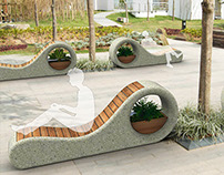 Snail bench
