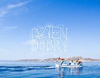 'Dzien dobry' Lettering ('Hello')
