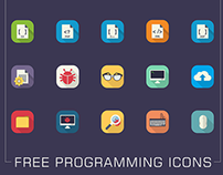 Free Programming Icons Set
