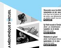 Médiathèque d'Arcueil / Programmation de septembre