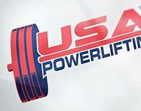 USA Powerlifting Logo Mark