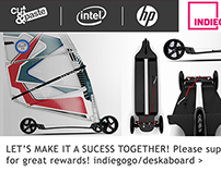 DESKA BOARD AVAILABLE At INDIEGOGO! Join Now!