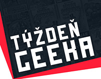Týždeň GEEKa redesign