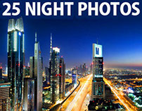 25 Beautiful Night Photography examples and Tips