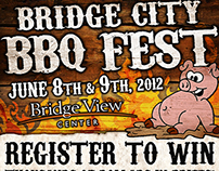 2012 Bridge City BBQ Fest Flyer