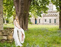 Bridal Fashion Editorial @ Winton House