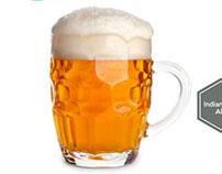 Beer Glassware Infographic