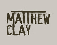 Logo Design for Matthew Clay