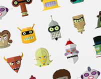 Futurama Robots Head