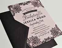 Jessica's Bachelorette Invitations