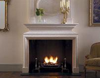 Marble & Limestone Fireplace Mantel
